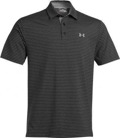 Playoff black under armour polo