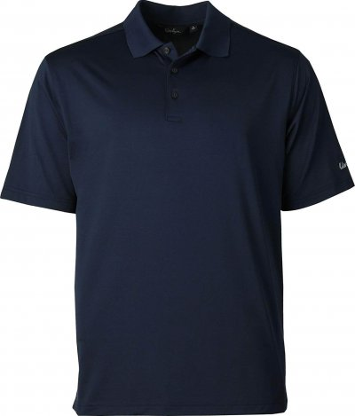 Solid golf polo