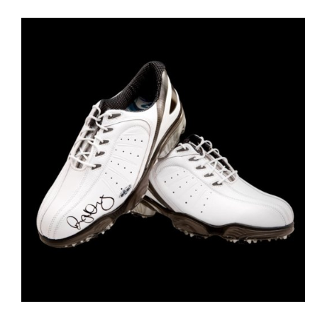 Rory McIlroy Autographed FootJoy Shoes