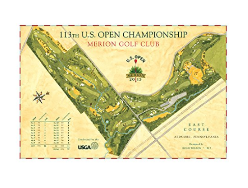 Signed Course Map by Lee Wybranski
