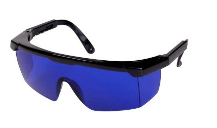 Blue Tinted Feisuo Glasses